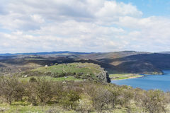 Pchelina lake in Bulgaria Stock Photography