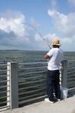 Pêcheur Image libre de droits