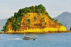 Pêcheur de la Malaisie Image stock