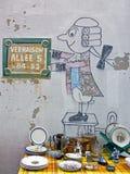 Pchli targ, vernaison targowy Paryski Francja obrazy stock