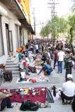 Pchli targ w Harbin, Chiny Zdjęcia Royalty Free