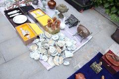 Pchli targ w Harbin, Chiny Fotografia Stock