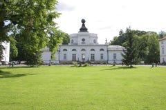 pchnięcia onna pałacu Poland Warsaw Obrazy Royalty Free
