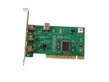 PCI Card. For a desktop computer, isolated with clipping path Royalty Free Stock Photo