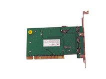 PCI Card, rear Royalty Free Stock Image