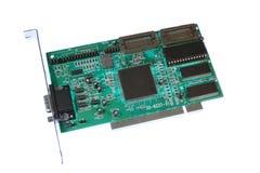 PCI Graphics Card. Circuit board Royalty Free Stock Photo