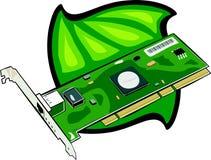 PCI modem internal. Illustration Royalty Free Stock Photography