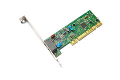 Pci network card Stock Images
