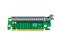 PCI Riser card isolated Royalty Free Stock Photography
