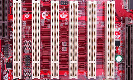 Pci slots Royalty Free Stock Images