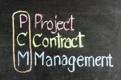 PCM för affärsstrategi Arkivfoto