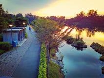 PCN along Punggol River Royalty Free Stock Photo