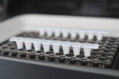 PCR πραγματικό - χρόνος Στοκ Εικόνες