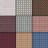 Ceramic background. 9 pcs of different ceramic background Stock Image