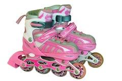 Pcteres de ruedas de los niños para las muchachas fotos de archivo