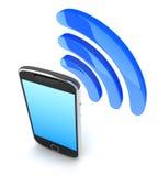 PDA και κύμα διανυσματική απεικόνιση