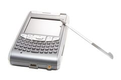 PDA. Personal digital assistant on a white background Stock Images