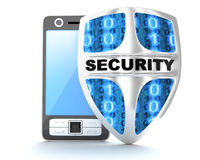 PDA abd shield security Stock Photo