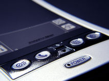 PDA Close-up. Close-up image of a PDA with power button Stock Images