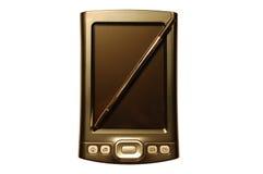 PDA com estilete fotografia de stock