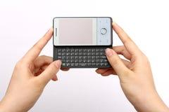 PDA a disposición Fotografía de archivo libre de regalías