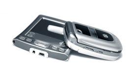 PDA e telefone de pilha foto de stock royalty free