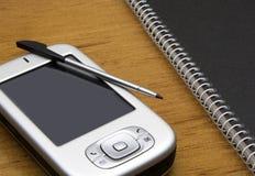PDA en la oficina #02 imagen de archivo libre de regalías
