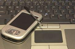 PDA et ordinateur portatif #02 Photographie stock libre de droits
