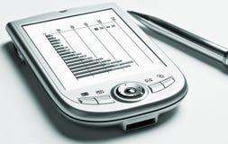 PDA, grafieken Royalty-vrije Stock Foto's