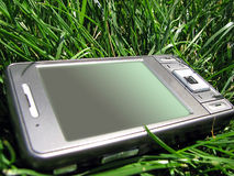 Pda  in  grass Royalty Free Stock Photos