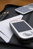 PDA in het bureau #01 Stock Foto's