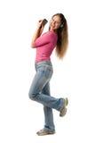 pda heureux de fille images libres de droits