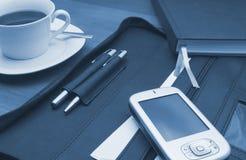 PDA im Büro Lizenzfreie Stockfotografie