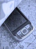 PDA Karte Lizenzfreies Stockfoto
