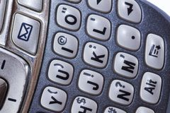 PDA Keyboard Stock Images