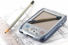 PDA Konzept Stockbild