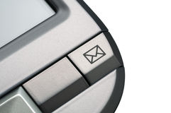 PDA-mail icon detail Royalty Free Stock Image