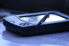 PDA met Naald Royalty-vrije Stock Fotografie