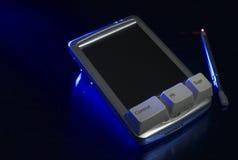 PDA met sleutels Royalty-vrije Stock Afbeeldingen