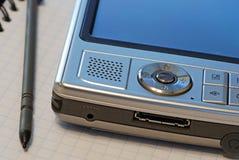 PDA mikrodator royaltyfri bild