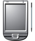 PDA mit Stift Stockbilder