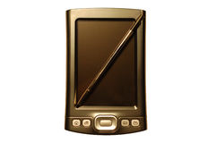 PDA mit Stift Stockfotografie