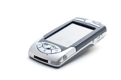 PDA Mobile Phone #1. PDA Mobile Phone on white, with clipping path Royalty Free Stock Images