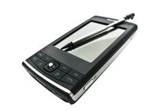 PDA mobile phone Stock Image