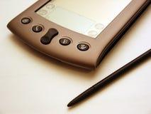 PDA negro y blanco Imagen de archivo libre de regalías