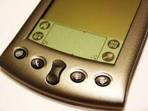 PDA noir et blanc photographie stock libre de droits