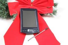 PDA para la Navidad fotografía de archivo libre de regalías