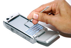 Pda Phone Royalty Free Stock Photography
