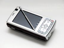 Pda phone royalty free stock photo