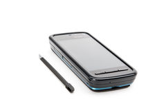 PDA phone with stylus Royalty Free Stock Images